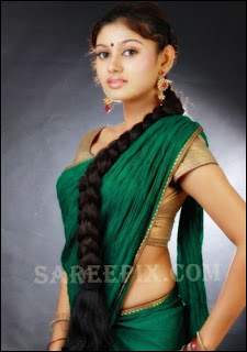 Oviya_side_green_half_saree_photos