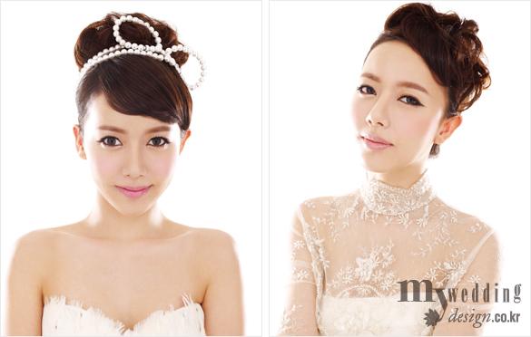 Tóc cô dâu Hàn Quốc 2012