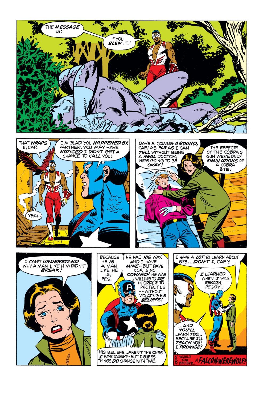 Captain America (1968) Issue #163 #77 - English 21