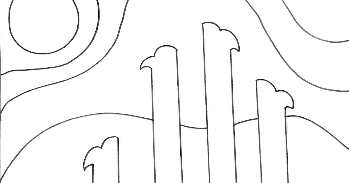 Cara Mewarnai Kaligrafi (2) - kantatailmu