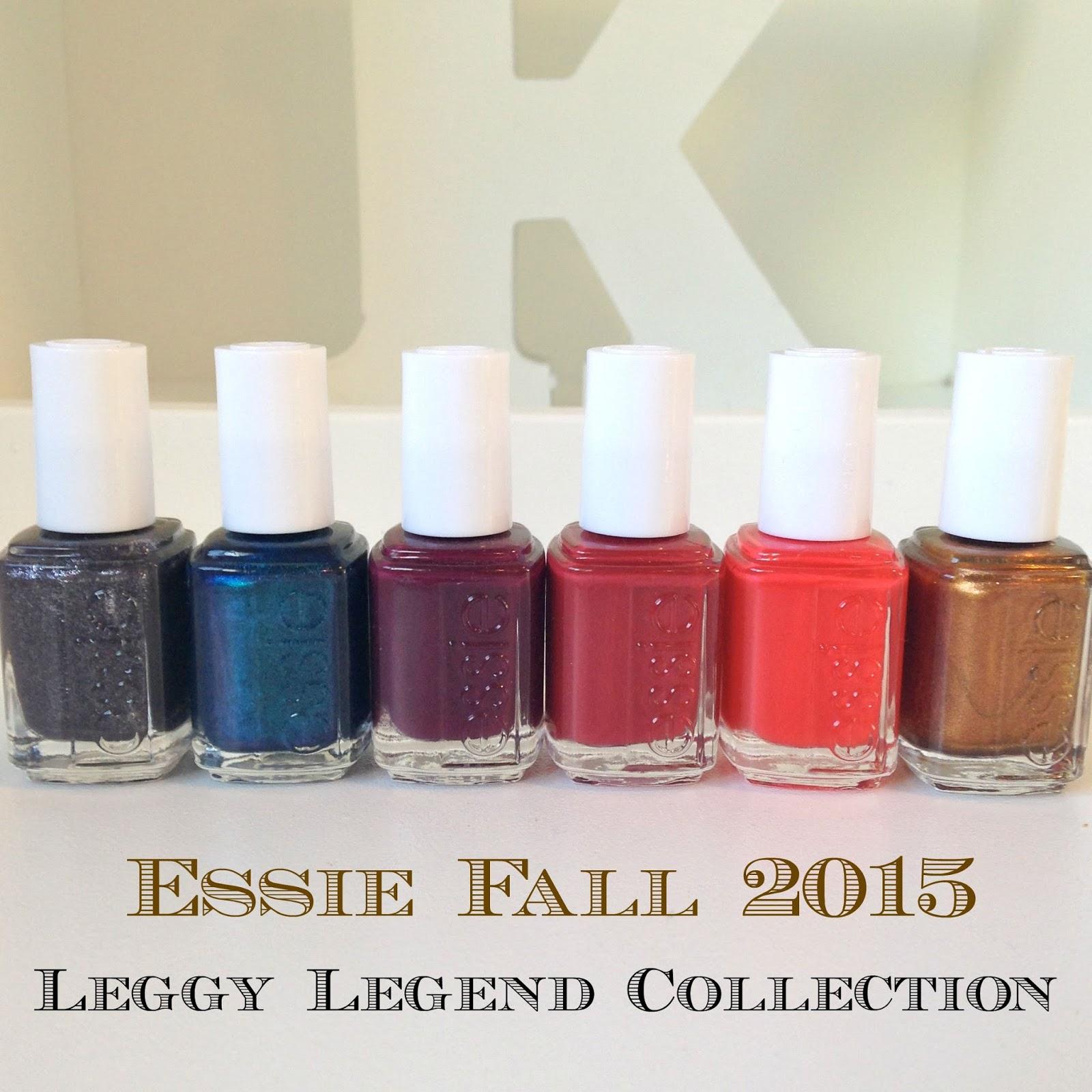 Essie Fall 2015 - Leggy Legend Collection | Essie Envy