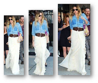 El look de Drew Barrymore