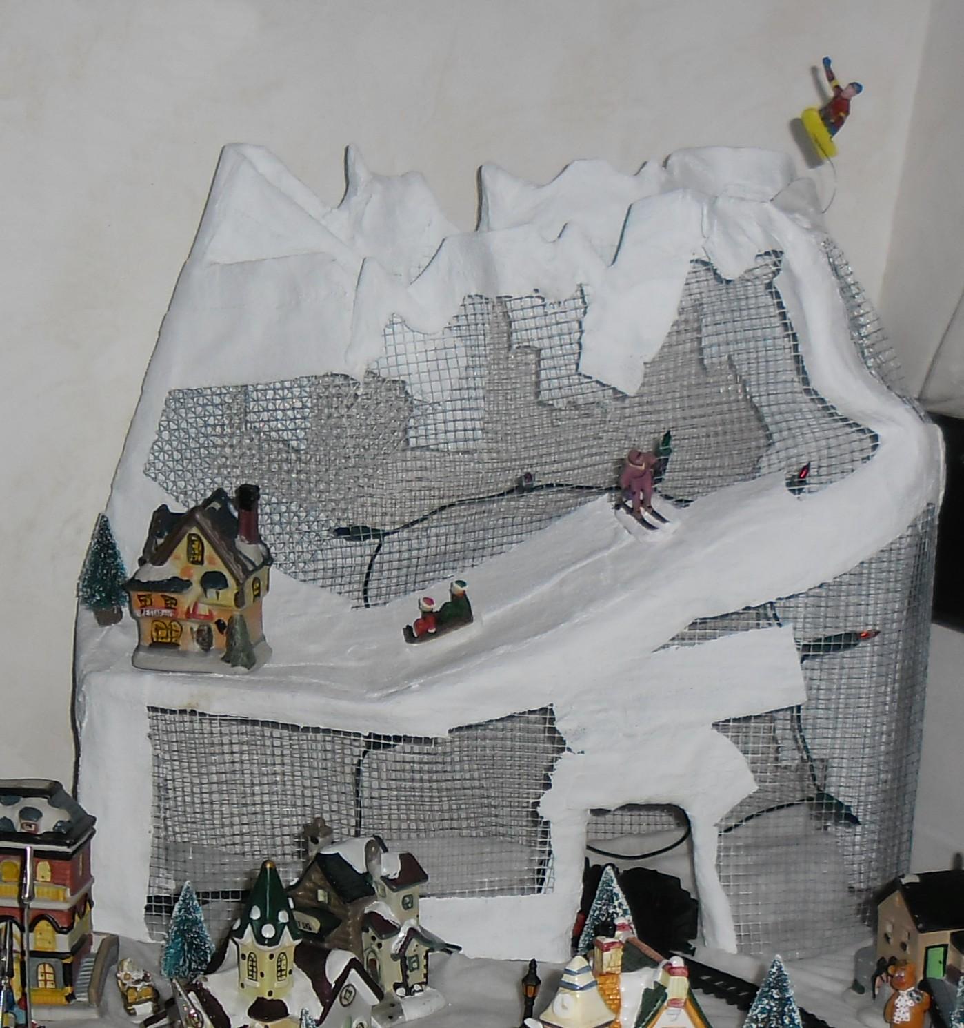 Bricolomamounette party fabriquer une montagne avec les - Fabriquer une guirlande electrique ...