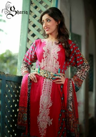 Crinkle Lawn Dresses by Shariq Textile