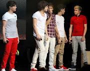 . Harry Styles, Louis Tomlinson, Liam Payne, Zayn Malik,performing on What .
