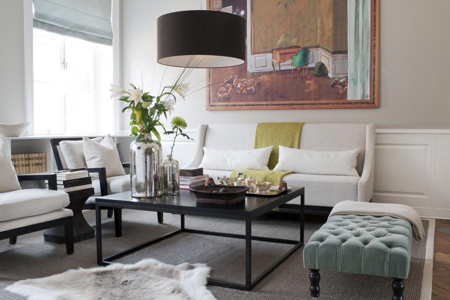 Hus inspiration inredning inspiration - Lamparas para salon modernas ...