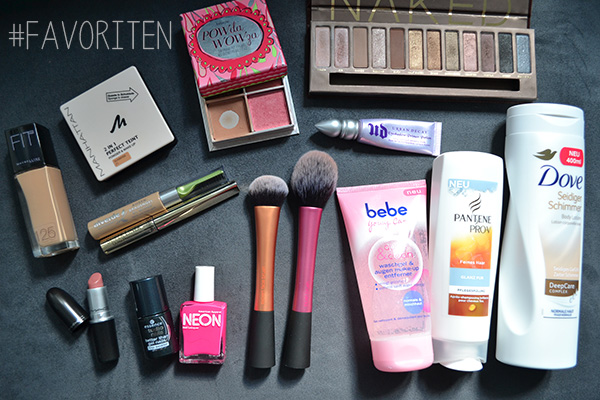 Juli August September Favoriten 2013 Make-up Kosmetik
