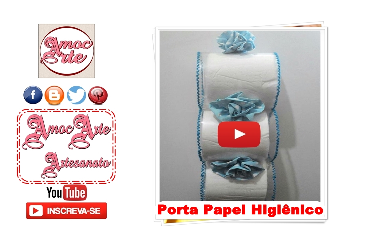 Diy - Porta Papel Higiênico de pet