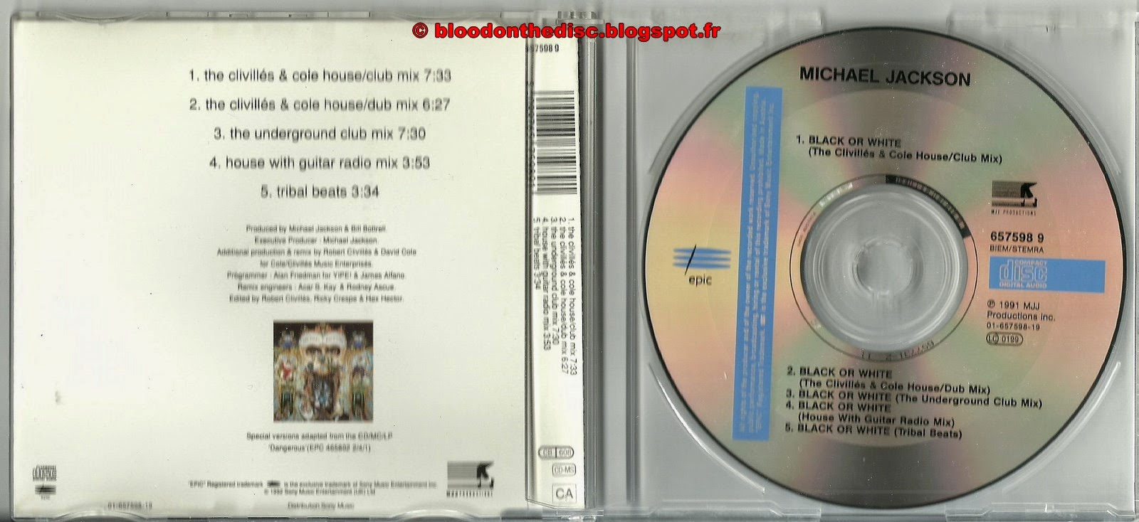 Bow maxi cd Clivillés & Coles Remixes