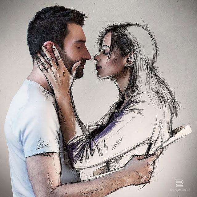 Sébastien Del Grosso, Sketch of a Life, Sketch your Mentor, dibujo, fotografía