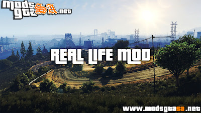 V - Mod Vida Real para GTA V PC