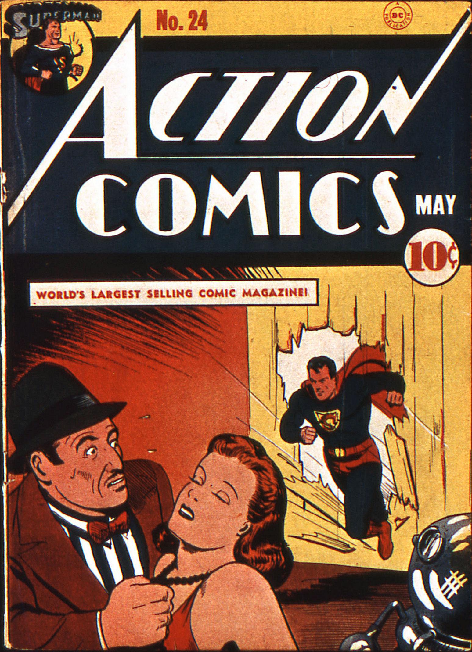 Action Comics (1938) 24 Page 1