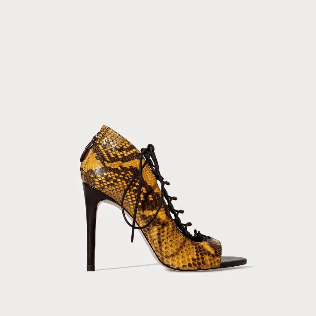 Sandalia Pitón Zara, shoes, shoesadict