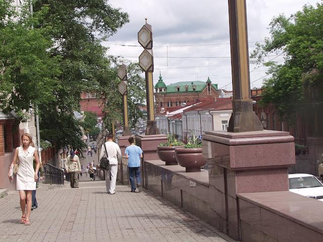 Томск, проспект Ленина в солнечный день