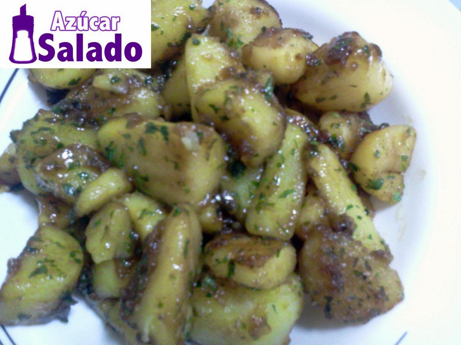 patatas caramelizadas