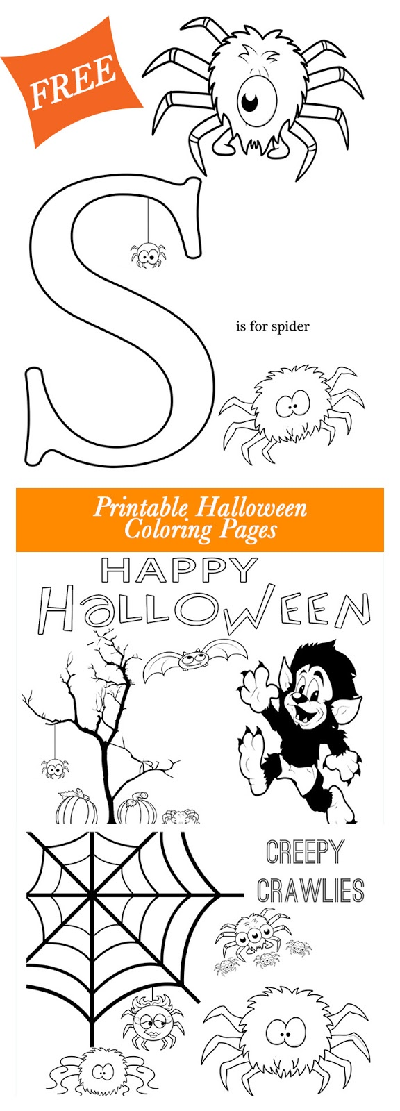 Printable coloring pages for halloween - Get These Free Halloween Printable Coloring Pages From Major Hoff Takes A Wife Super Cute