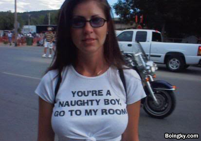 funny t shirt naughty girl