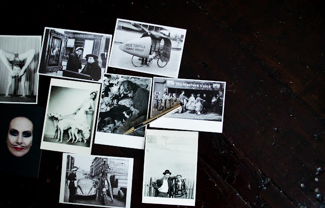 quirky postcards