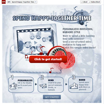 Spend Happy Together Time with BPI