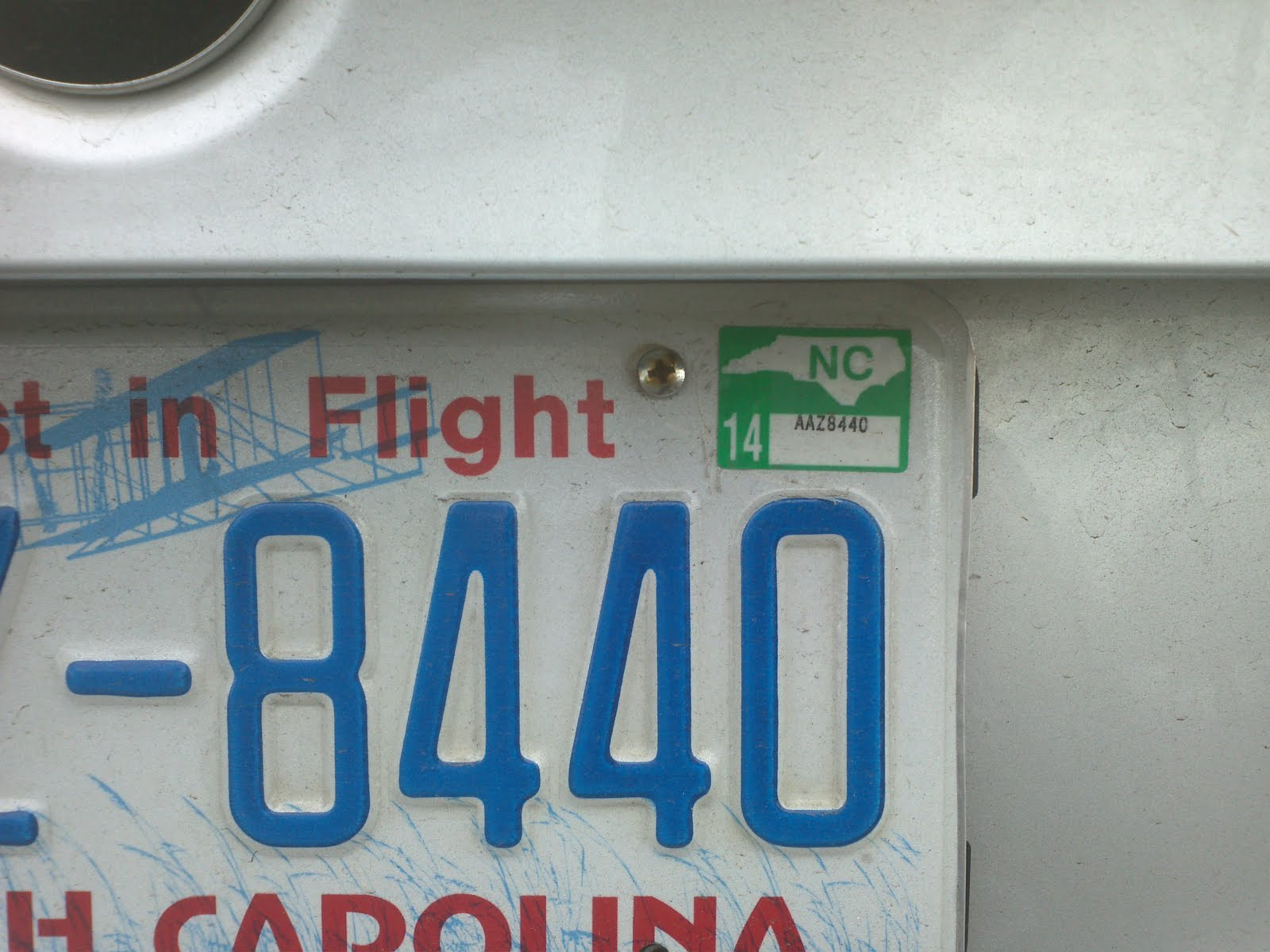 Chris Allen\'s Spectacularly Mediocre Blog: License Plate ...