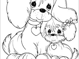 Doggy Coloring Pages Printable