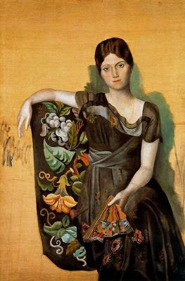 Retrato de Olga en un sillón de Picasso