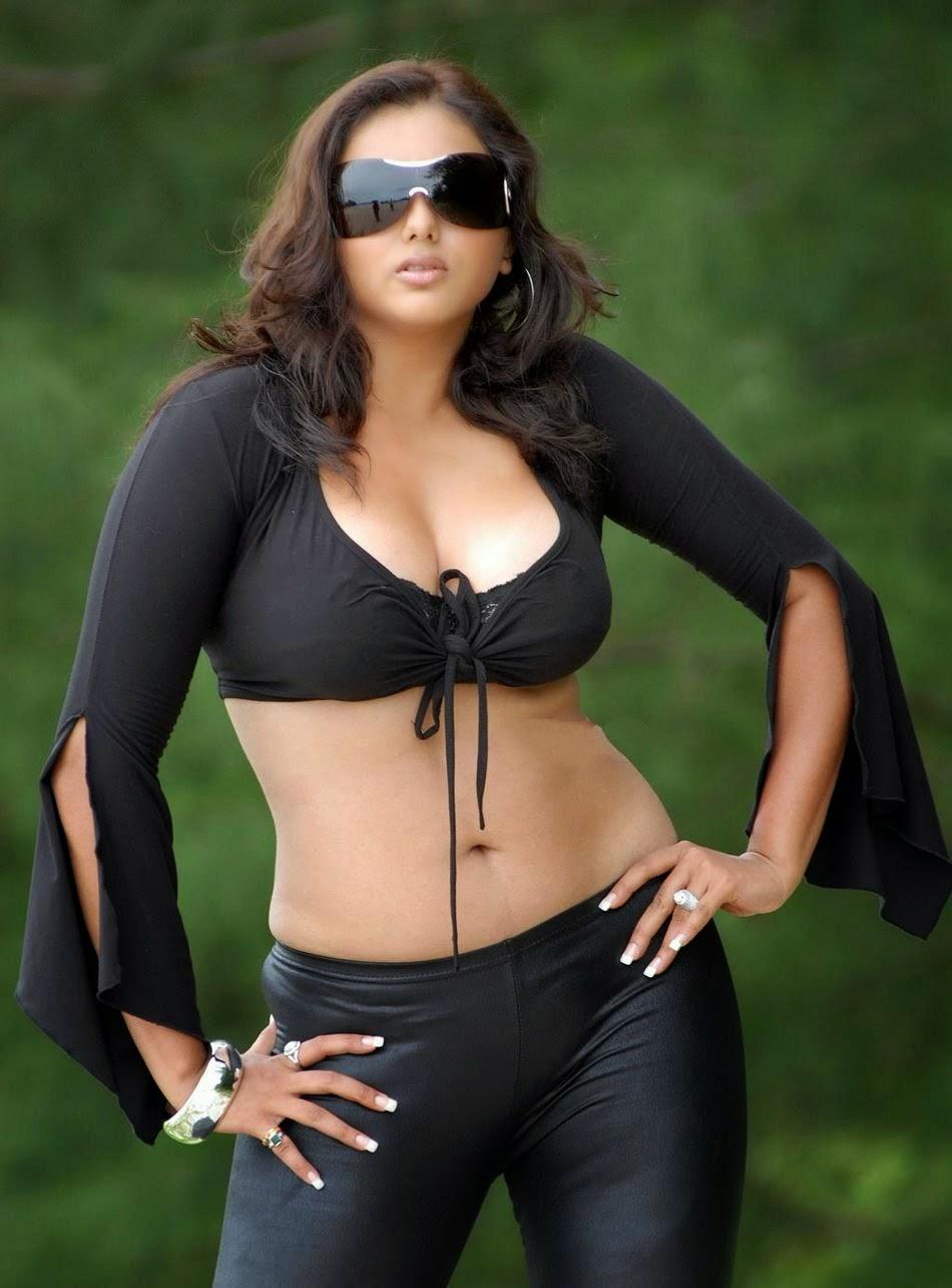 Namitha Black Dress Hot Photos | Namitha Hot & Spicy Photos | Namitha Hot Stills