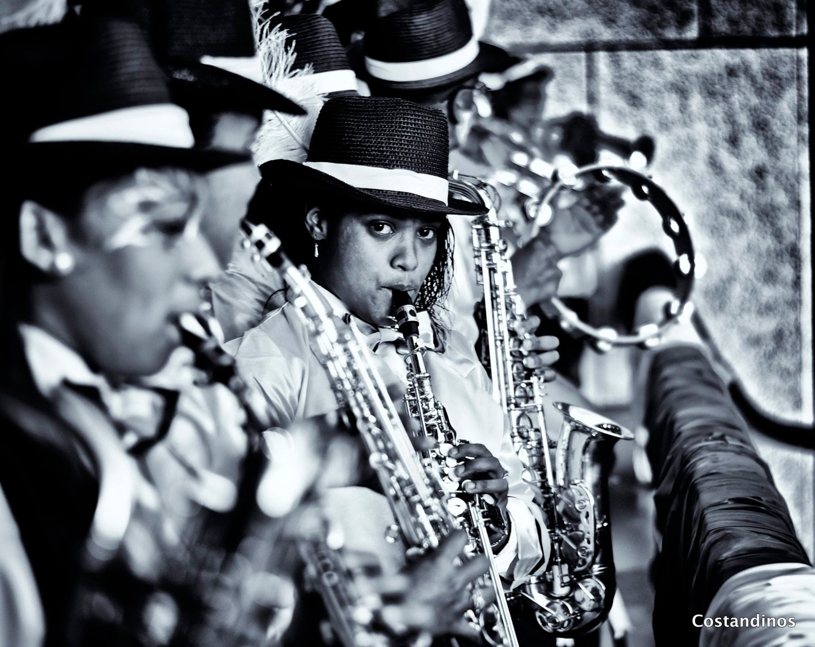 Image 2 cape minstrels kaapse klopse artscape theatre cape town black white photography