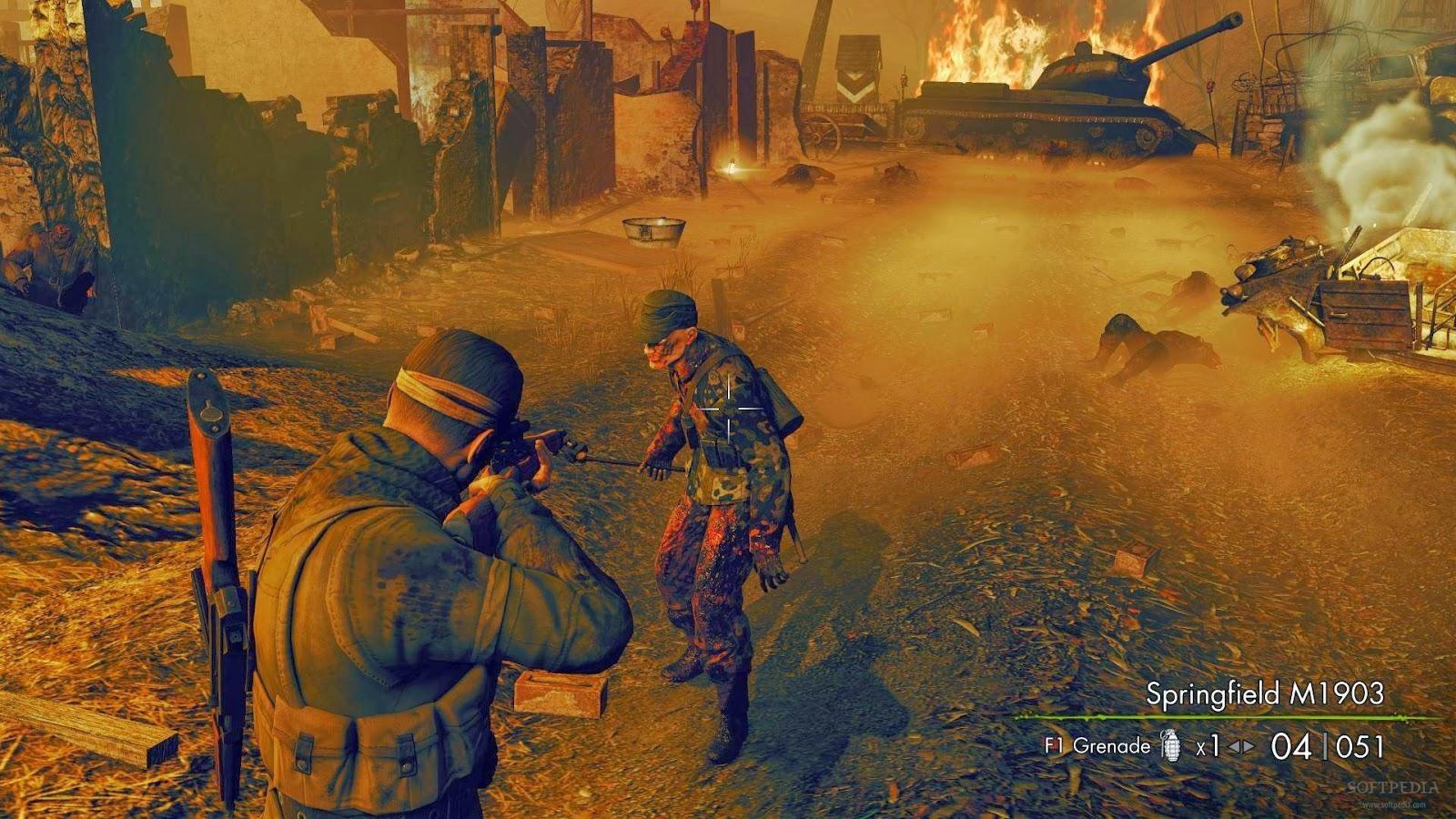 Game Fix / Crack: Sniper Elite: Nazi Zombie Army v  …