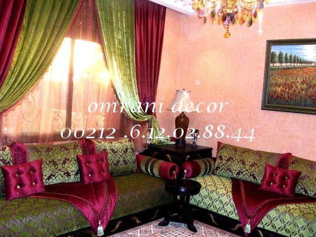 Decoration Salon Marocain Gris