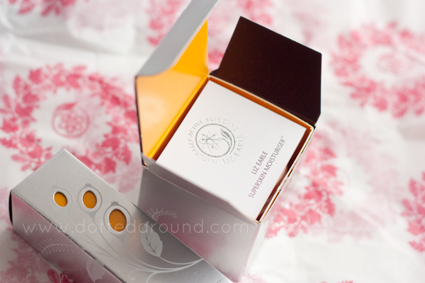 Liz Earle Superskin moisturizer packaging
