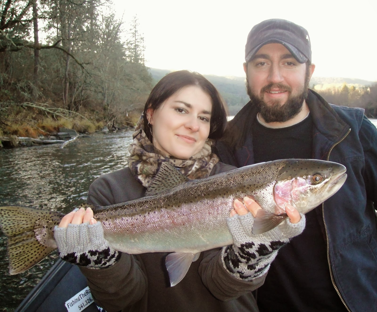 Oregon fishing report for the rogue river rogue river for Oregon steelhead fishing