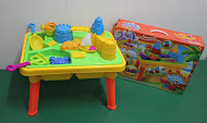 NEW 2 in 1 Beach-Fun Table,NOW RM75 only!!!