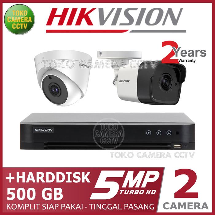 HARGA PAKET HIKVISION 5 MP