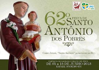 Festa em honra a Santo Antonio em Rafael Godeiro - RN