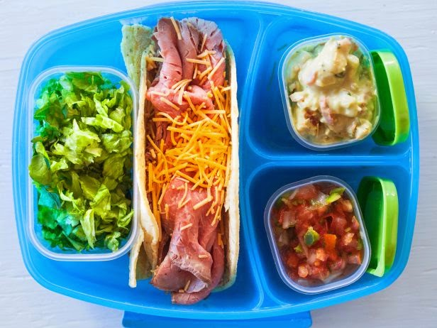 Lunch box taco bar