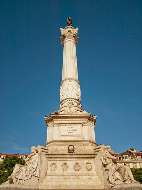 Monumento Plaza D. Pedro IV, Lisboa
