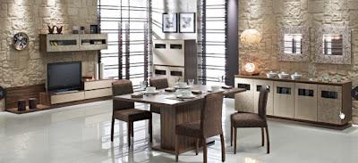 Do%C4%9Fta%C5%9F Yemek Odas%C4%B1 Modelleri 550x251 Tepehome yemek odası modelleri