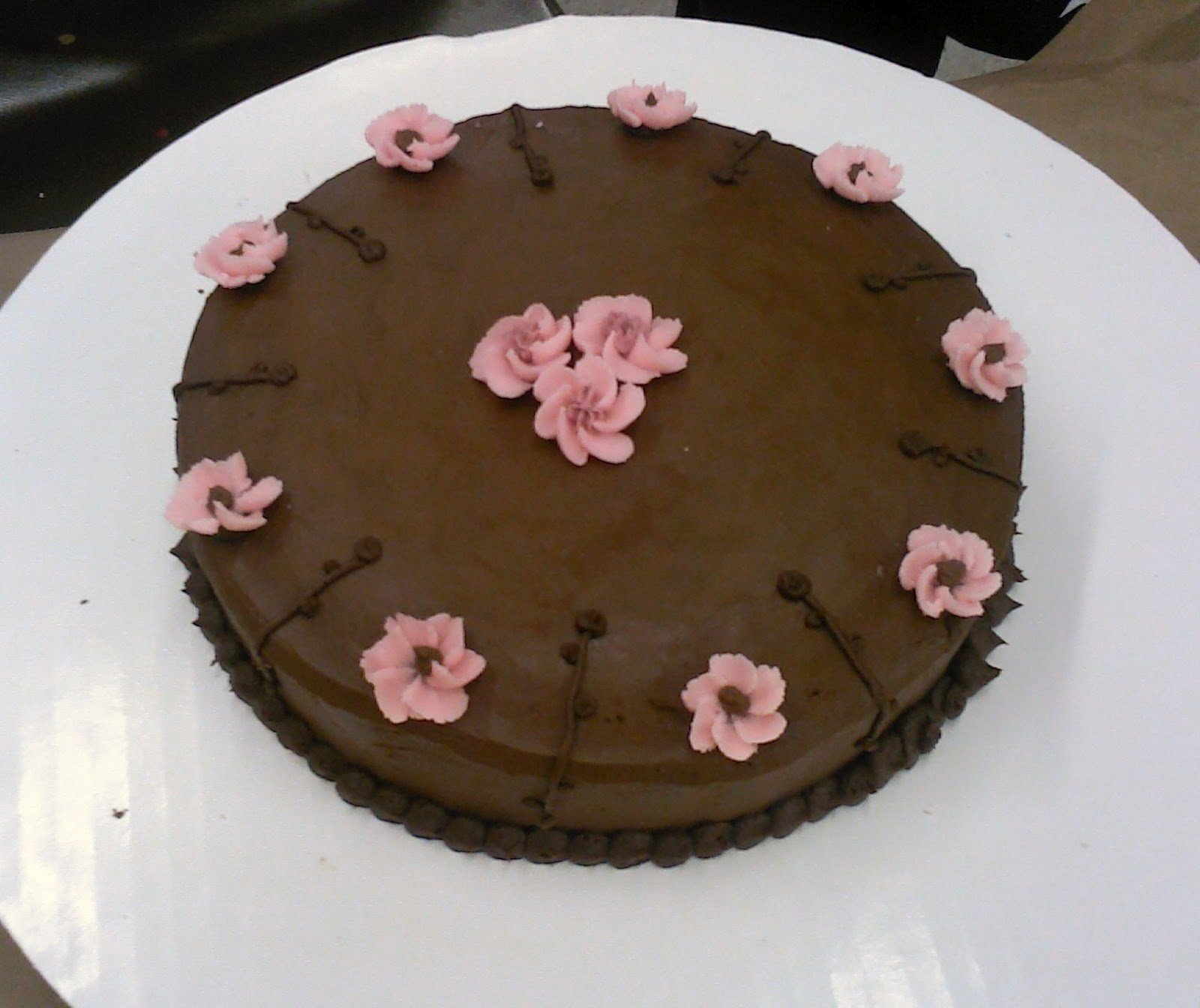 Korin s sweet creations: Flower and Cake Design (course 2)