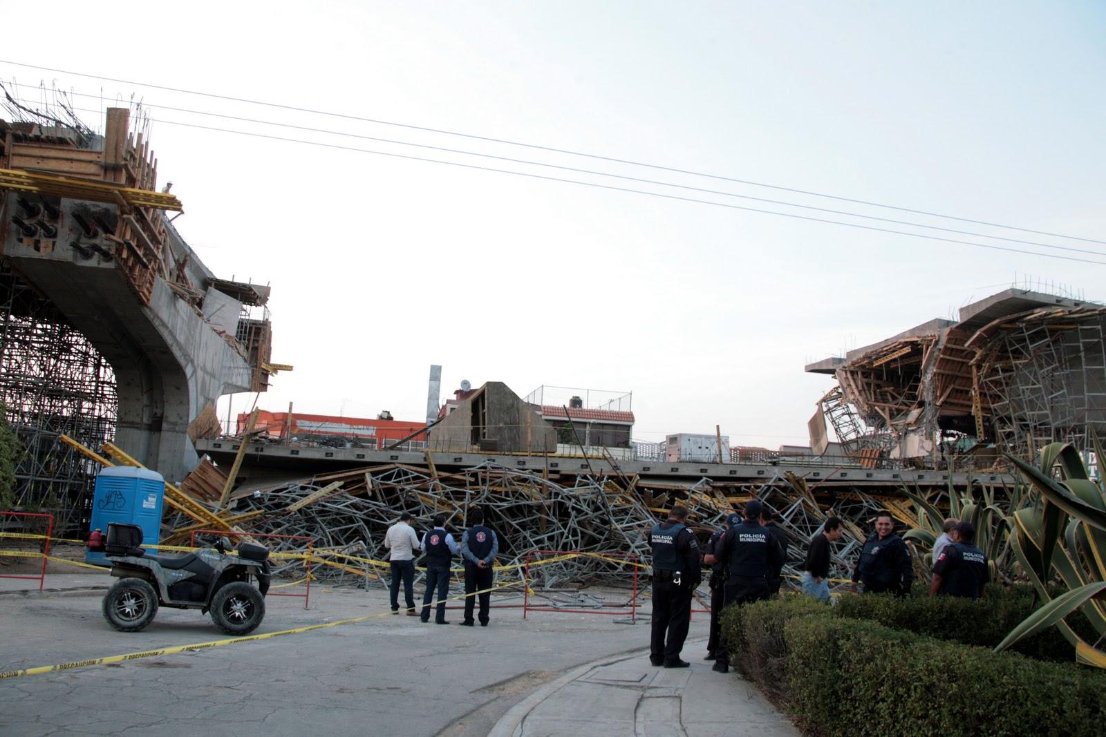 Foro 7 se derrumba parte del viaducto en construcci n - Construccion zaragoza ...