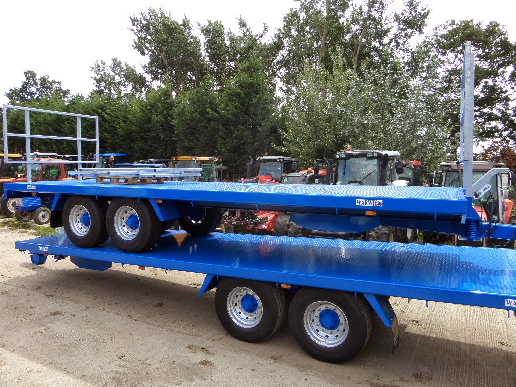 Used Tractor Trailers : Used tractors machinery and plant warwick ft bale trailer