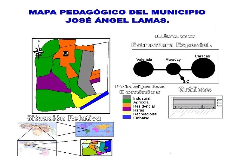 Mapa Del Municipio Jos Ngel Lamas Patrimonio Centro