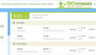 Bons plans voyage Guadeloupe pas cher en Aout