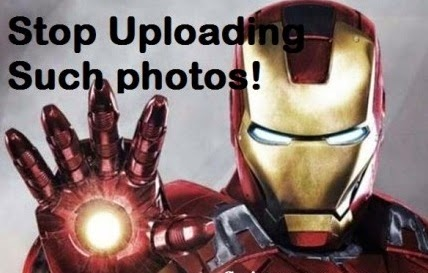 Iron man funny photo comments