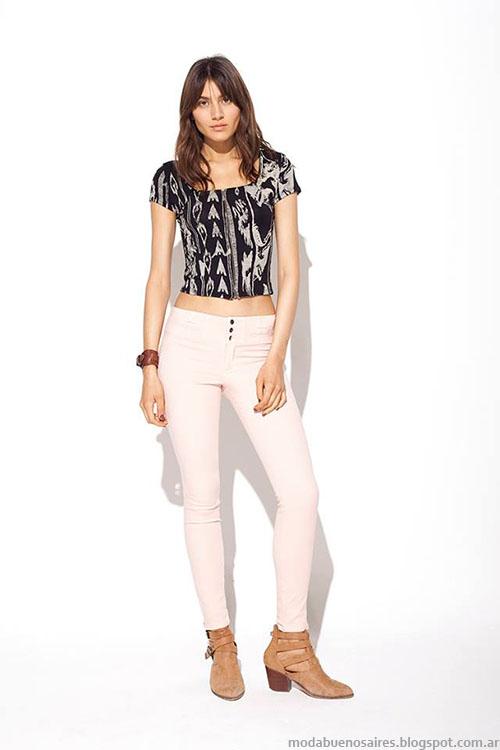 MAB primavera verano 2015 pantalones de verano 2015.