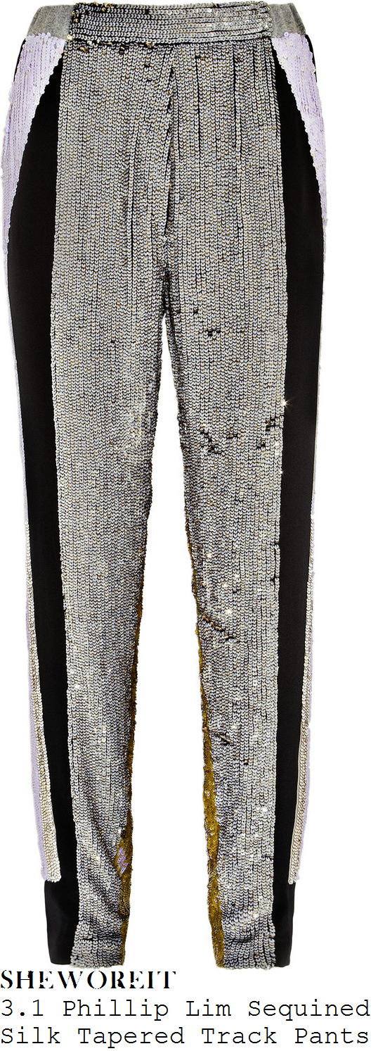 tamera-foster-silver-black-gold-white-sequin-embellished-trousers-x-factor