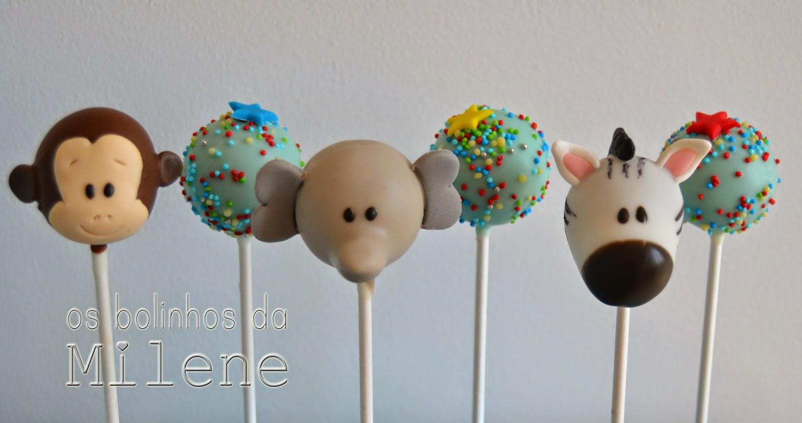 Cake pops portugal os bolinhos da milene animais for Cake pops cobertura