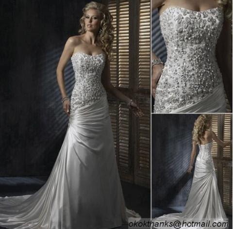 Diamond Wedding Dress Fashionguru99