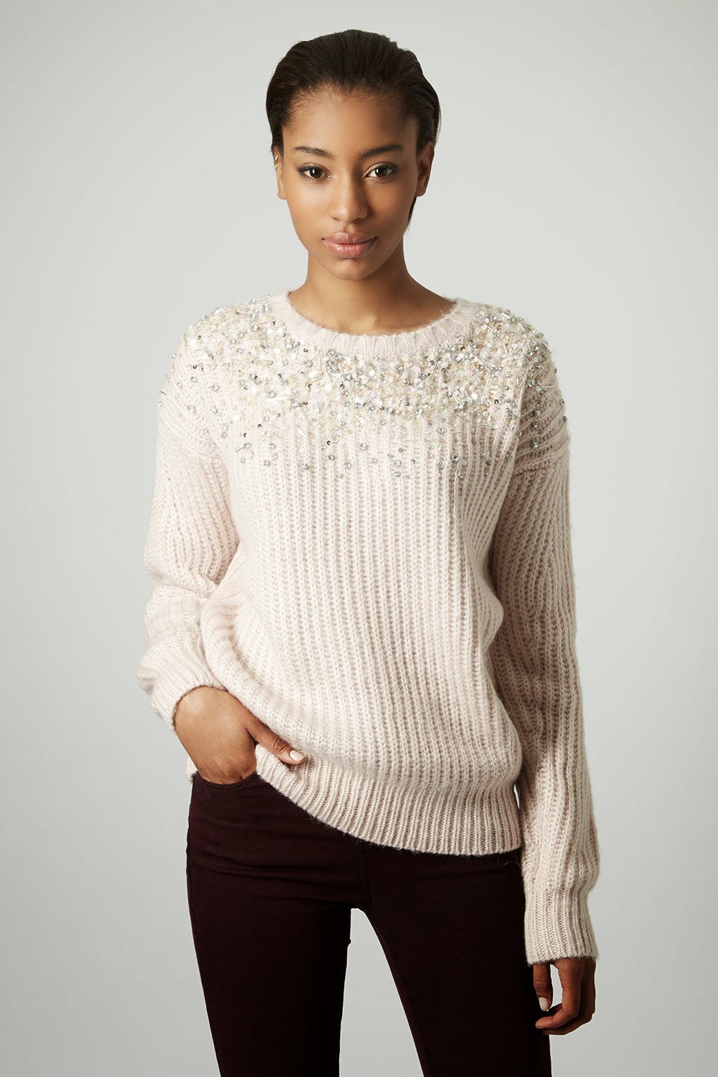jewelled jumper