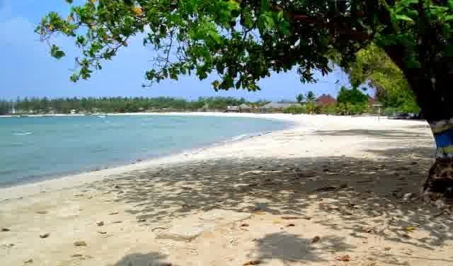 Gambar pantai bandengan jepara